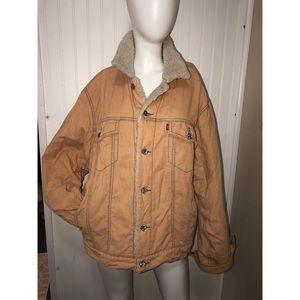 Vintage Levi's Corduroy Sherpa Jacket